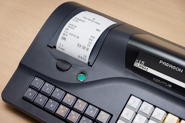 Kasa fiskalna Novitus Sento LAN E - Wystawi NIP klienta na paragonie fiskalnym